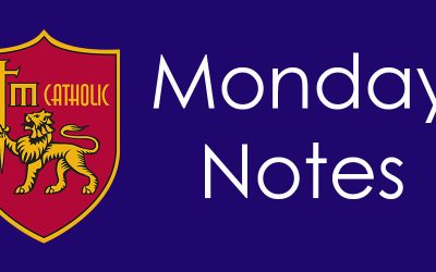 Monday Notes for December 10, 2018